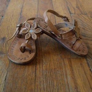 Other - Toddler Genuine Leather Boho Sandals